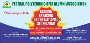 Ground Breaking of the National Secretariat